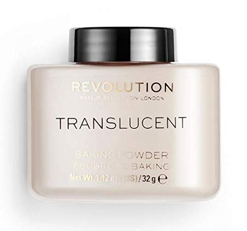 Makeup Revolution Loose Baking Powder, Translucent