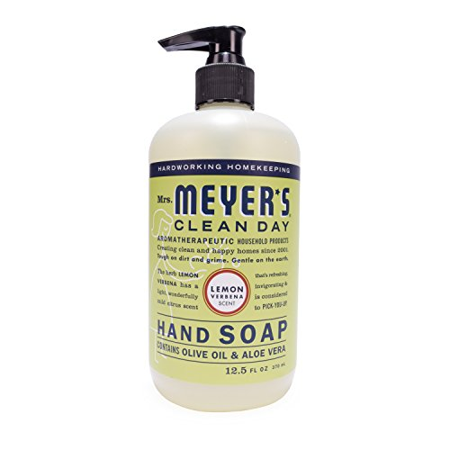 Mrs. Meyer's Clean Day - Mrs. Meyer's Hand Soap Lemon Verbena, 12.5 Fluid Ounce (Pack of 3)