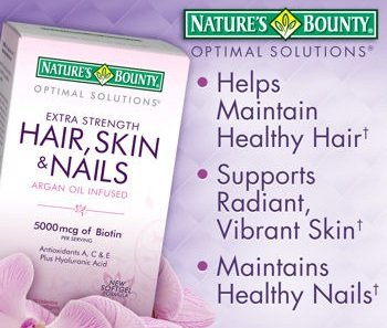 Nature's Bounty - Nature's Bounty Extra Strength Hair Skin Nails, 250 Count