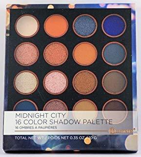 BHCosmetics - BH Cosmetics 16 Color Eyeshadow Palette, Midnight City