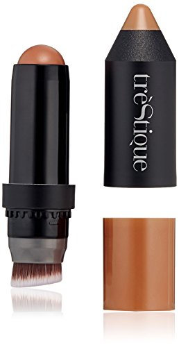 Unknown - trèStiQue Bronzer Stick, Color + Contour Matte Bronzer with Built-in Blender, Cruelty Free