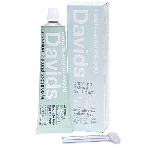 David's Peppermint Toothpaste