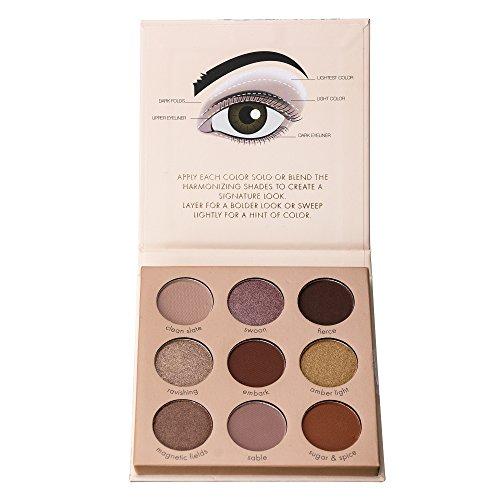 Ellen Tracy - Eye Essentials 9-Well Eye Shadow Palette Book