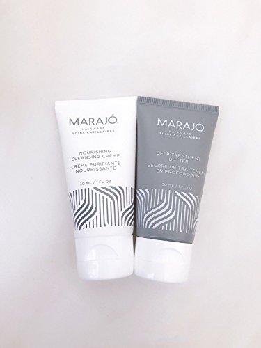 Marajo - MARAJO Nourishing Cleansing Creme & Deep Treatment Butter 1 oz Each, Travel Size