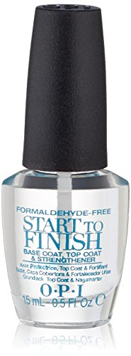 OPI OPI Nail Lacquer Treatment, Start-to-Finish Formaldehyde-Free, 0.5 fl. oz.