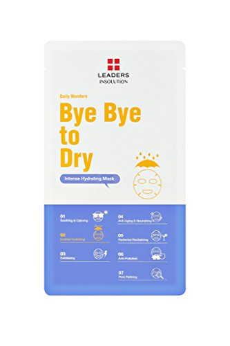 Leaders Insolution - [Leaders Insolution] Daily Wonders Bye Bye To Dry Moisturizing Face Sheet Mask 10Pk