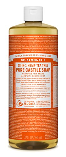 Dr. Bronner's - Pure-Castile Liquid Soap - Tea Tree