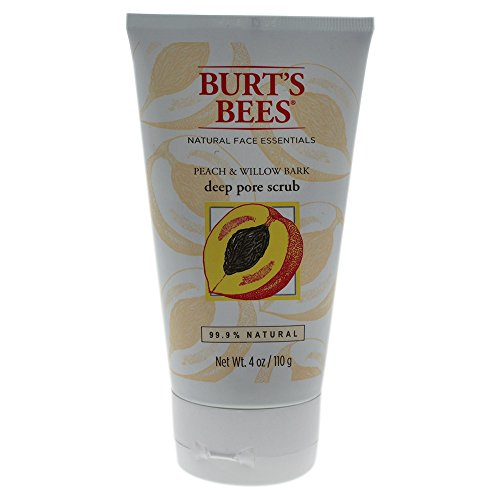 Burt's Bees - Peach & Willowbark Deep Pore Scrub - 4 oz