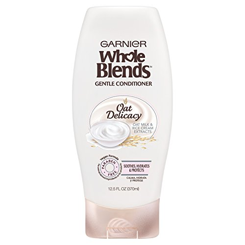 Garnier - Garnier Whole Blends Gentle Conditioner Oat Delicacy, For Sensitive Scalp, 12.5 fl. oz.