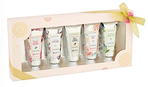spa luxetique - Spa Luxetique Hand Cream Bath Set, 1 fl oz, 5 pieces