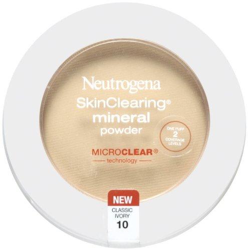 Neutrogena - Skinclearing Mineral Powder, Classic Ivory 10