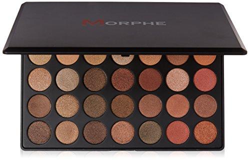 Morphe Morphe Brushes - 35OS - 35 Color Shimmer Nature Glow Eyeshadow Palette by Morphe Brushes
