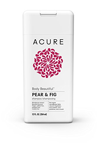 Acure - ACURE Body Beautiful Shampoo, Pear & Fig, 12 Fl. Oz. (Packaging May Vary)