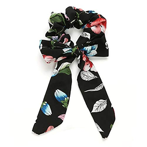H&M - Floral Printed Design Hair Scrunchies