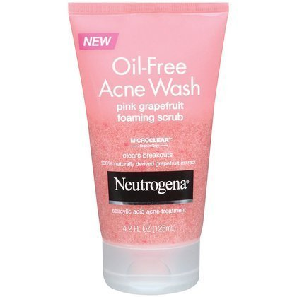 Neutrogena - Oil-Free Acne Wash Pink Grapefruit Foaming Scrub