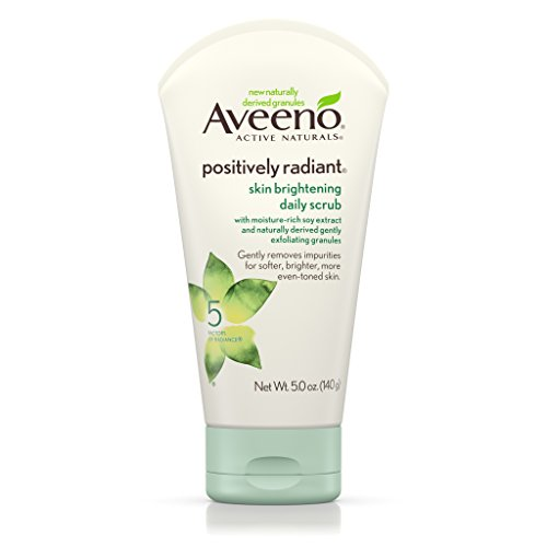 Aveeno - Aveeno Positively Radiant Skin Brightening Exfoliating Daily Scrub, 5 Oz