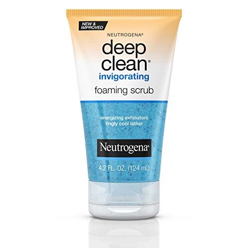 Neutrogena - Neutrogena Deep Clean Invigorating Foaming Scrub 4.2 Oz (3 Pack)