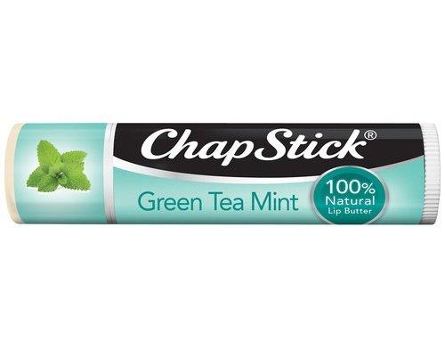 Chapstick - ChapStick 100% Natural Lip Butter, Green Tea Mint, 0.15 oz (Pack of 2)