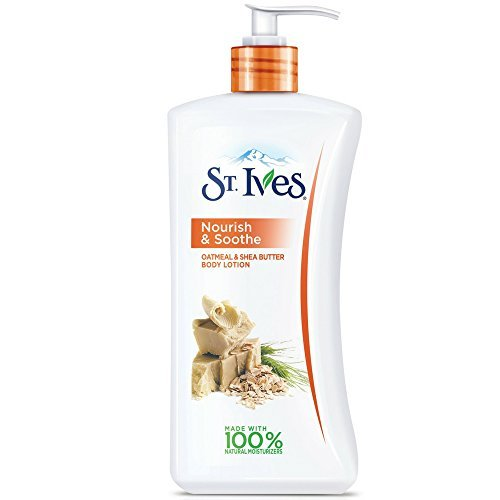 St. Ives - St. Ives Nourish & Soothe, Oatmeal & Shea Butter Body Lotion 21 oz (Pack of 4)