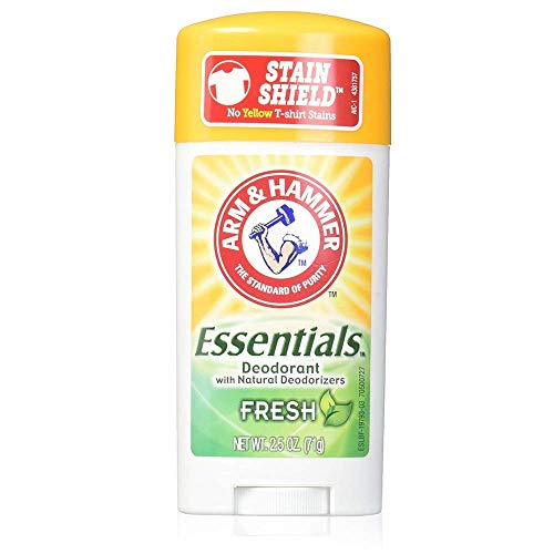 Arm & Hammer - ARM & HAMMER Essentials Natural Deodorant Fresh 2.50 oz (Pack of 5)