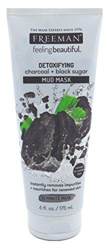 Freeman - Freeman Facial Charcoal & Black Sugar Mud Mask 6 Ounce (175ml) (3 Pack)