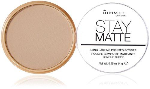 Rimmel - Rimmel Stay Matte Pressed Powder, Transparent [001], 0.49 oz (Pack of 9)