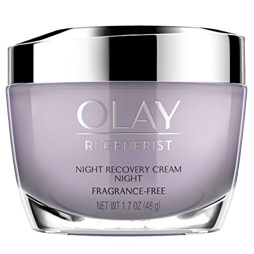 Olay Night Cream by Olay, Regenerist Night Recovery Anti-Aging Face Moisturizer 1.7 oz