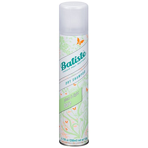 Batiste - Batiste Dry Shampoo, Bare Fragrance, 6 Count