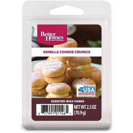 Better Homes & Gardens - Vanilla Cookie Crunch Scented Wax Cubes