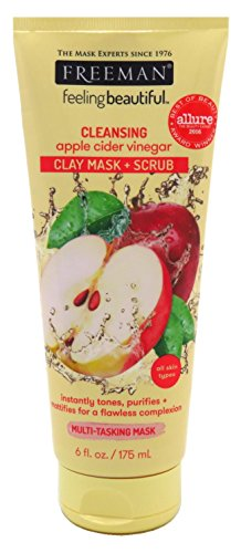Freeman - Facial Apple Cider Vinegar Clay Mask + Scrub