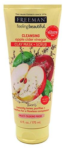 Freeman - Facial Apple Cider Vinegar Clay Mask + Scrub