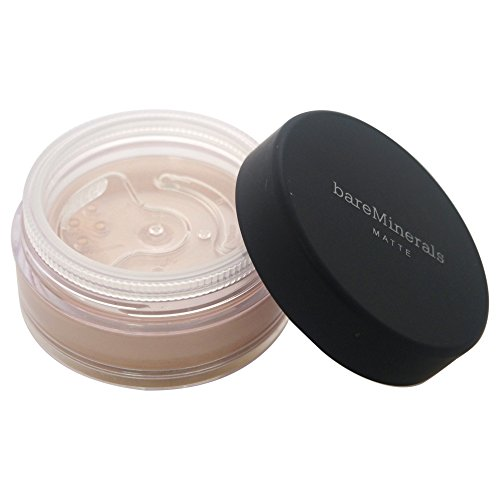Bare Escentuals - bareMinerals Matte Foundation Broad Spectrum SPF 15 Foundation, Fairly Medium, 0.21 Ounce