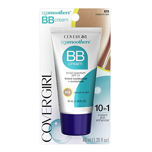 COVERGIRL COVERGIRL SmoothersLightweight BB Cream Medium to Dark 815, 1.35 Ounce (packaging may vary)