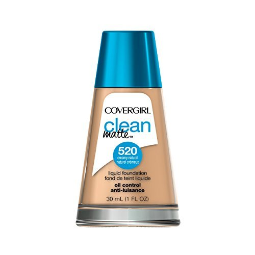COVERGIRL - COVERGIRL Clean Matte Liquid Foundation Creamy Natural 1 fl. oz by COVERGIRL