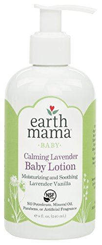 Earth Mama Earth Mama Calming Lavender Baby Lotion with Organic Calendula, 8-Fluid Ounce