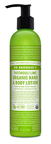 Dr. Bronner's - All-One Organic Lotion for Hands & Body, Patchouli Lime