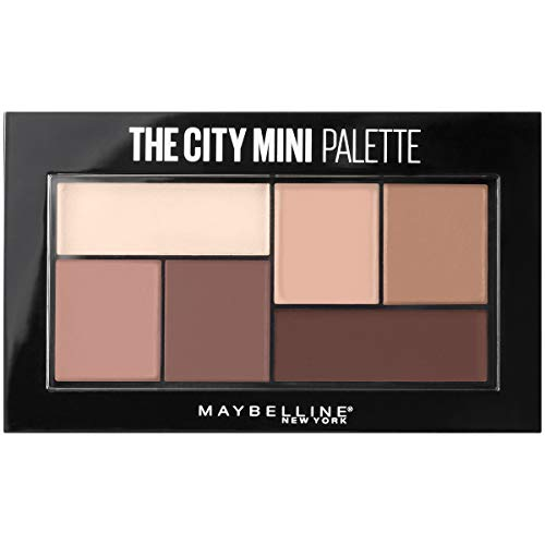 Maybelline New York - The City Mini Eyeshadow Palette Makeup, Matte About Town
