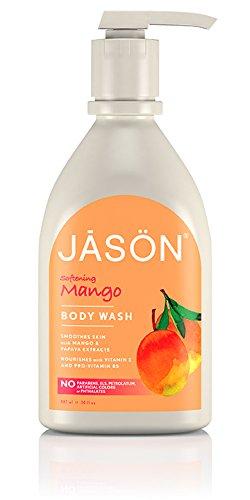 Jason Natural - JASON NATURAL PRODUCTS Satin Shower Body Wash Mango & Papaya 30 oz