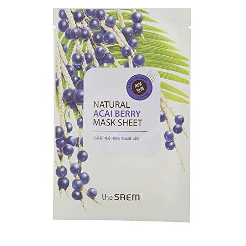 The SAEM  - Natural Acai Berry Sheet Mask