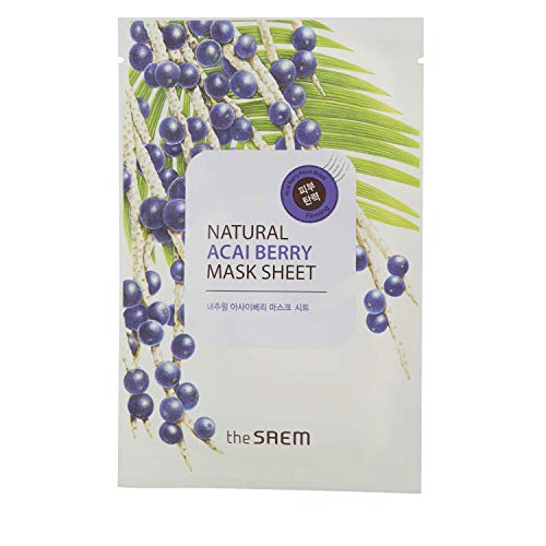 The SAEM  - Natural Acai Berry Sheet Mask