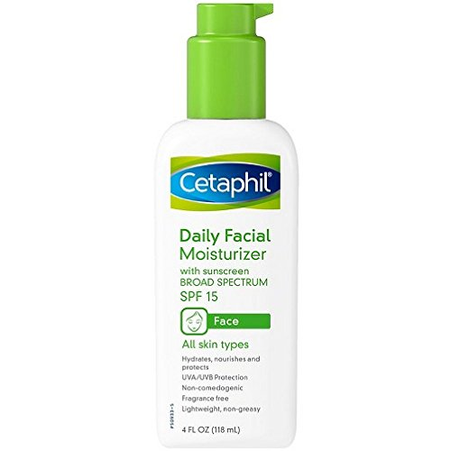 Cetaphil - Cetaphil Daily Facial Moisturizer, SPF 15, Fragrance Free - 4 fl oz