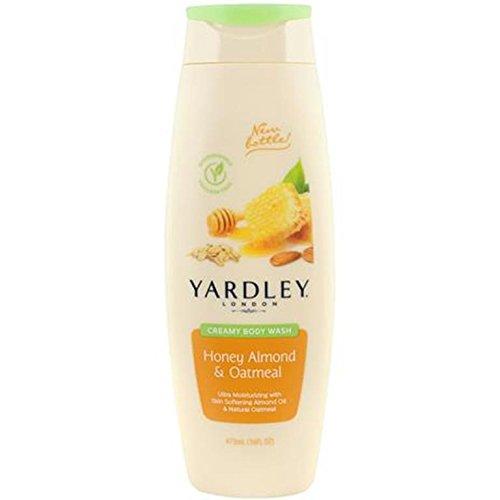 Yardley - Yardley London Honey Almond & Oatmeal Creamy Body Wash, 16 ounce