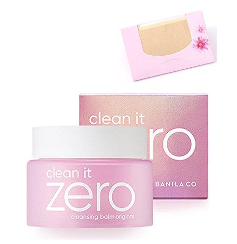 BANILA CO - Banila Co Clean it Zero Cleansing Balm 100ml (Original) + SoltreeBundle Natural Hemp Paper 50pcs