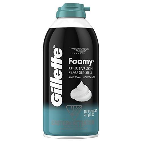 Gillette - Gillette Foamy Shaving Cream, Sensitive Skin, 11 Ounce