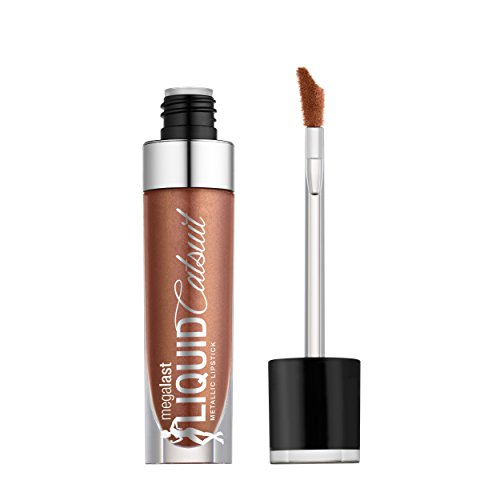 Wet 'n Wild - wet n wild Megalast Liquid Catsuit Metallic Lipstick, Satin Sheets, 0.21 Ounce