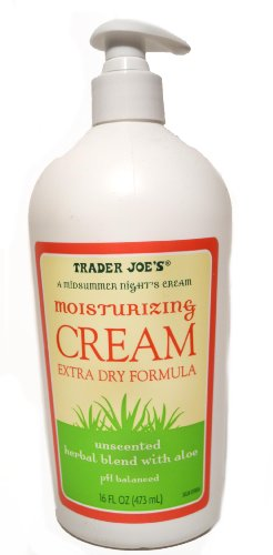 trader joe's - Trader Joe's Moisturizing Cream Extra Dry Formula Unscented Herbal Blend With Aloe