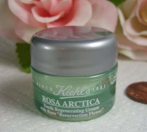 Kiehl's - Kiehl's Rosa Arctica .25 Oz / 7 G Youth Regenerating Cream with Rare 'Resurrection Flower'