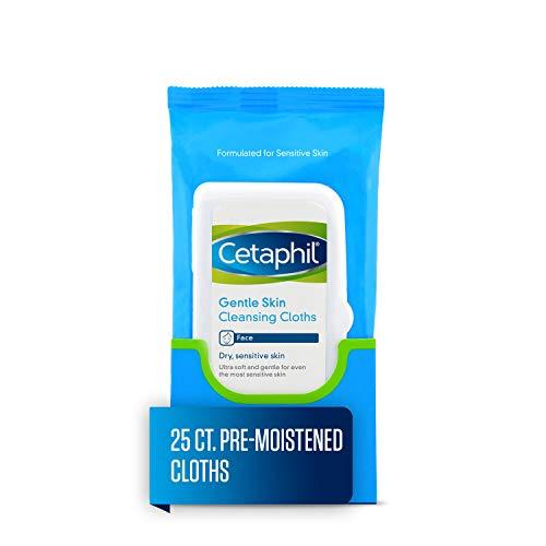 Cetaphil Gentle Skin Cleansing Cloths for Dry, Sensitive Skin