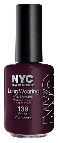 N.Y.C. - Long Wearing Nail Enamel, Plaza Plumberry