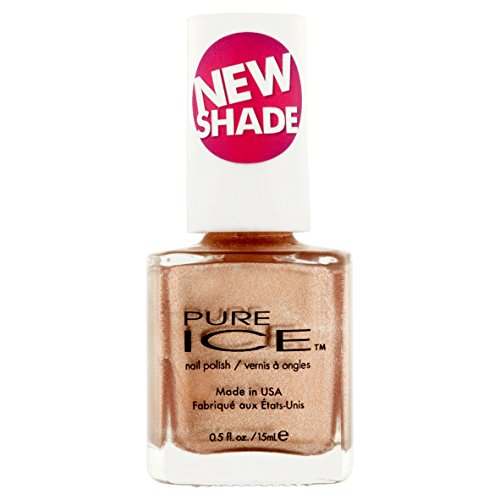 PURE ICE - Pure Ice Nail Polish Goldie Locks #1389 (Rose/Gold) 0.5 Fl Oz